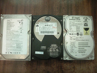 Отдается в дар HDD 3 жестких диска