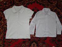 Отдается в дар Блузка-рубашка для школы