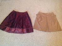 Отдается в дар Две юбки 46-48 размера