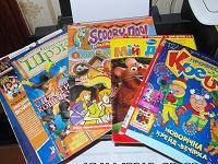 Отдается в дар Детские журналы разукрашки.