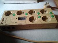 Отдается в дар Сетевой фильтр со встроенным вольтометром