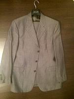 Отдается в дар Мужской костюм светло-серый Ritter 54 размер