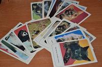 Отдается в дар Набор открыток «Кошки»
