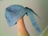 Отдается в дар джинсовая бандана