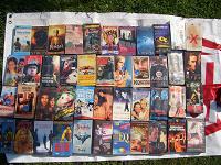 Отдается в дар Видео кассеты различной тематики