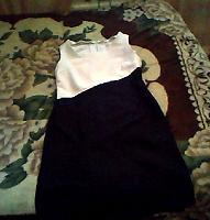 Отдается в дар Платье черно-белое.