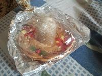 Отдается в дар свеча на блюдечке