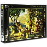 Отдается в дар пазл-картина Семирадского «танец среди мечей»