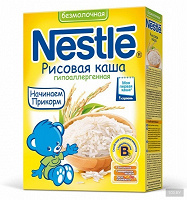 Отдается в дар nestle рисовая каша гипоаллергенная 1 ступень