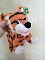 Отдается в дар Детская игрушка — сумочка. Тигрр-р-ррр-р-р!