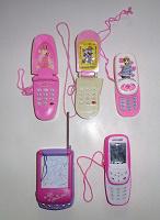 Отдается в дар 5 игрушечных телефонов