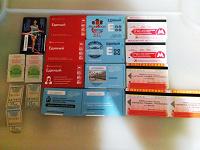 Отдается в дар Транспортные билеты: метро и автобус.