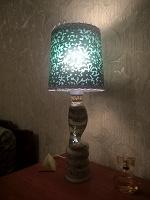 Отдается в дар Лампа настольная декоративная(кобра)