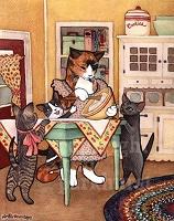 Отдается в дар котик кухонный