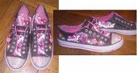 Отдается в дар кеды и кроссовки для девочки