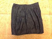 Отдается в дар oggi, р. 46-48 джинса юбка тюльпан