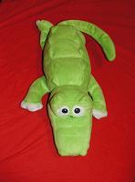 Отдается в дар Крокодил зелёный «ржачный»-интерактивный