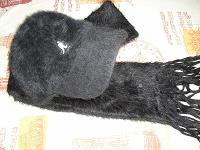 Отдается в дар Комплект «Kangol» кепка+шарфик
