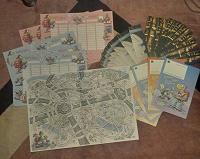 Отдается в дар Закладки, комиксы, таблица расписания уроков, головоломки