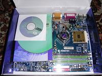 Отдается в дар Материнская плата Albatron KX-18D Pro с процессором Athlon XP2500+ на ядре Barton
