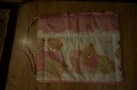 Отдается в дар Бортики в кроватку девочке.