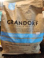 Отдается в дар GRANDORF корм для собак