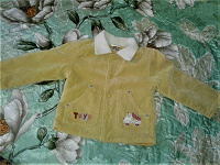 Отдается в дар Детское пальтишко на 12 — 18 месяцев мальчику