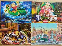 Отдается в дар Новогодние календарики