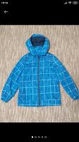 Отдается в дар Синяя курточка, на мальчика, ветровка на флисе