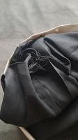 Отдается в дар Черная ткань на рукоделие