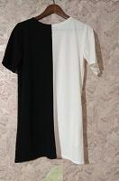 Отдается в дар Платье черно=белое