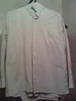 Отдается в дар 2 мужские белые рубашки р.ворота 42