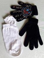 Отдается в дар Одинокие перчатки и носки