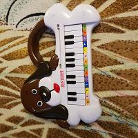 Отдается в дар детская игрушка пианино