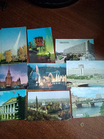 Отдается в дар Календарики Москва