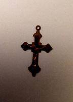 Отдается в дар Крестик медный