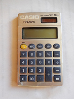 Отдается в дар Калькулятор под Casio Китай