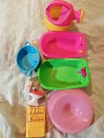 Отдается в дар Детская посуда, игрушки