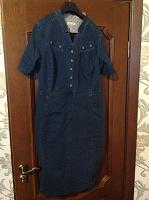 Отдается в дар Платье джинсовое