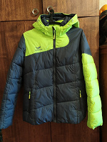 Отдается в дар Куртка зимняя, якобы горнолыжка