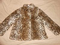 Отдается в дар Шубка на 5-6 лет (можно носить и с 4 лет)