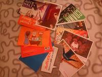 Отдается в дар Открытки рекламные City Cards, флаеры.