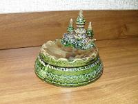 Отдается в дар Пепельница керамика.