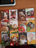 Отдается в дар Карманные календарики — мышки