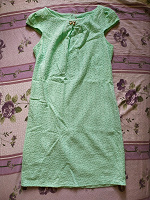 Отдается в дар Платье мятного цвета