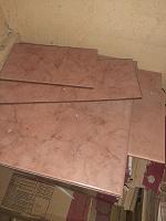 Отдается в дар плитка керамика остатки