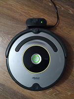 Отдается в дар Робот пылесос (нужна замена аккумулятора).