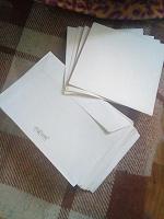 Отдается в дар И снова конверты