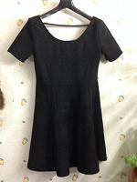 Отдается в дар Чёрное платье на маленький рост.