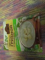 Отдается в дар пакетик «суп-пюре грибной с гренками»,«щедросол»